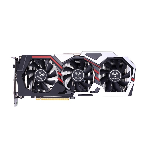 Colorful iGame GTX1080 Vulcan UT V2 Graphics Card [212326095812]